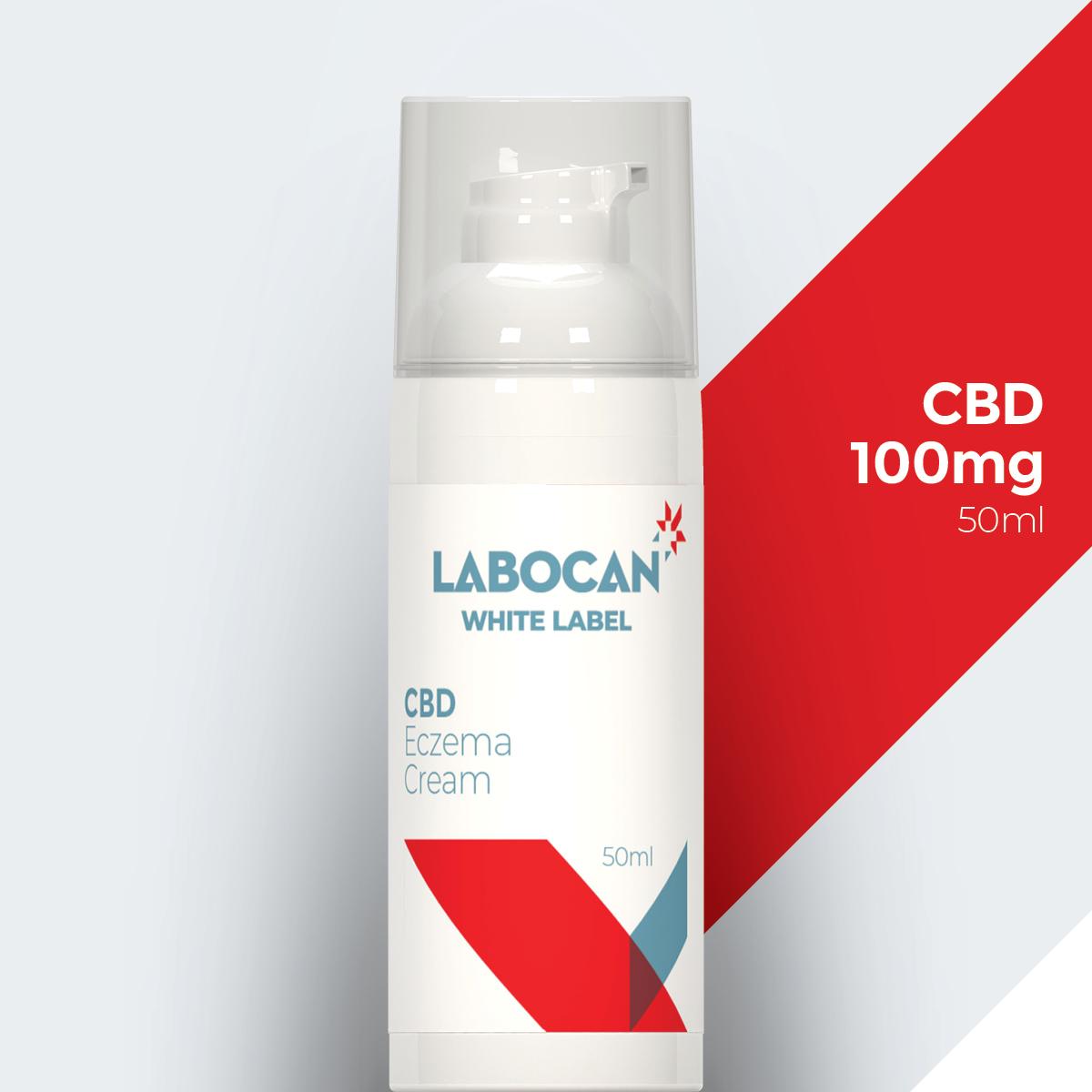 White label CBD Eczeem Crème