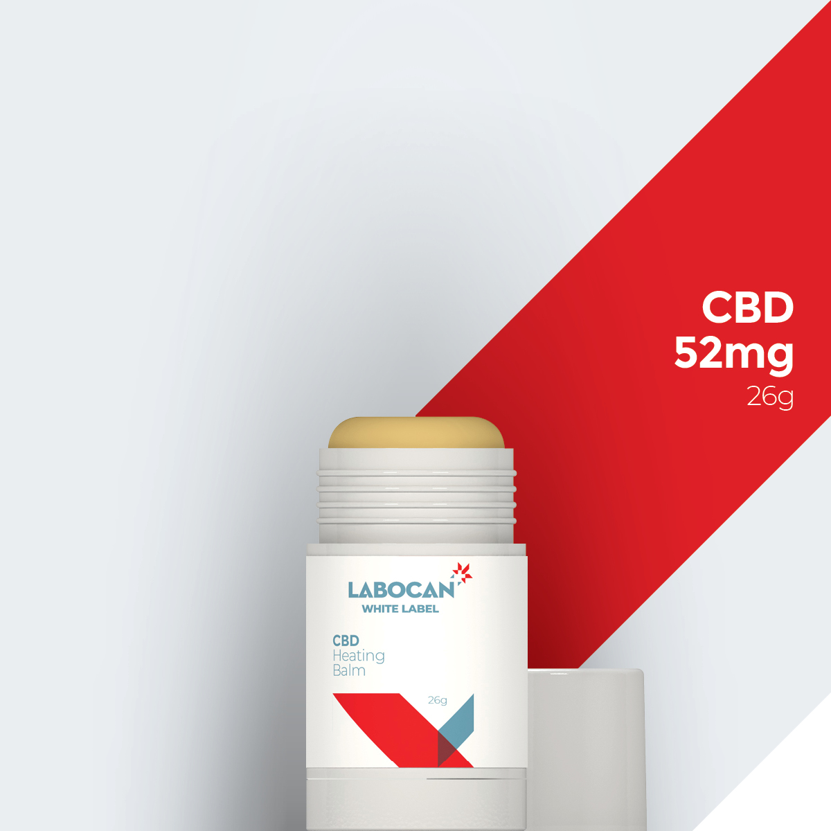 White Label Verwarmende balsem met CBD
