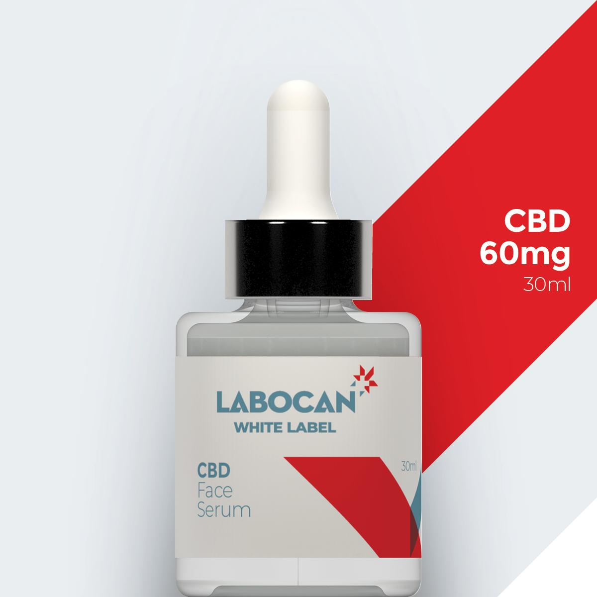 White label CBD Gezichtsserum