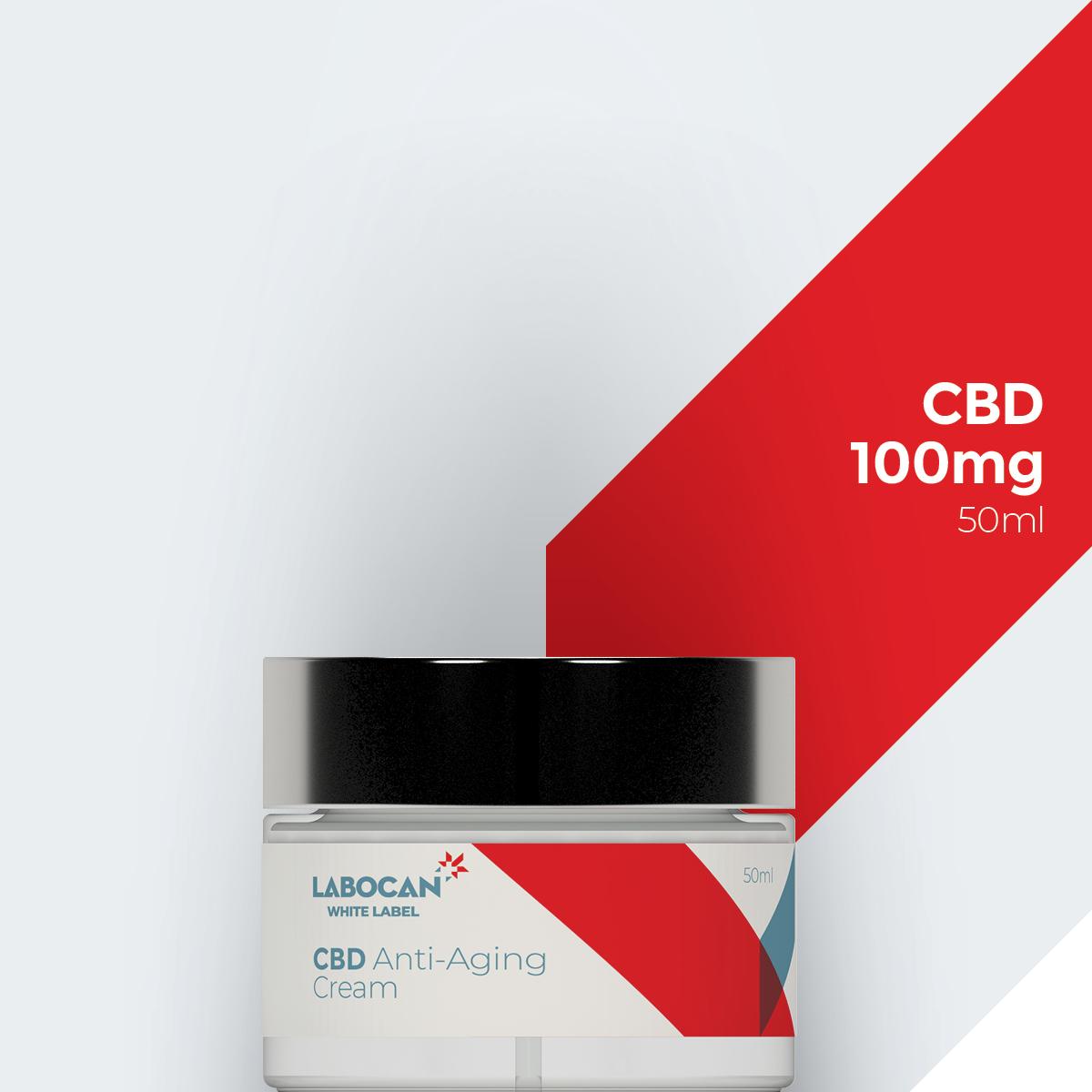 White Label CBD Anti-rimpelcrème