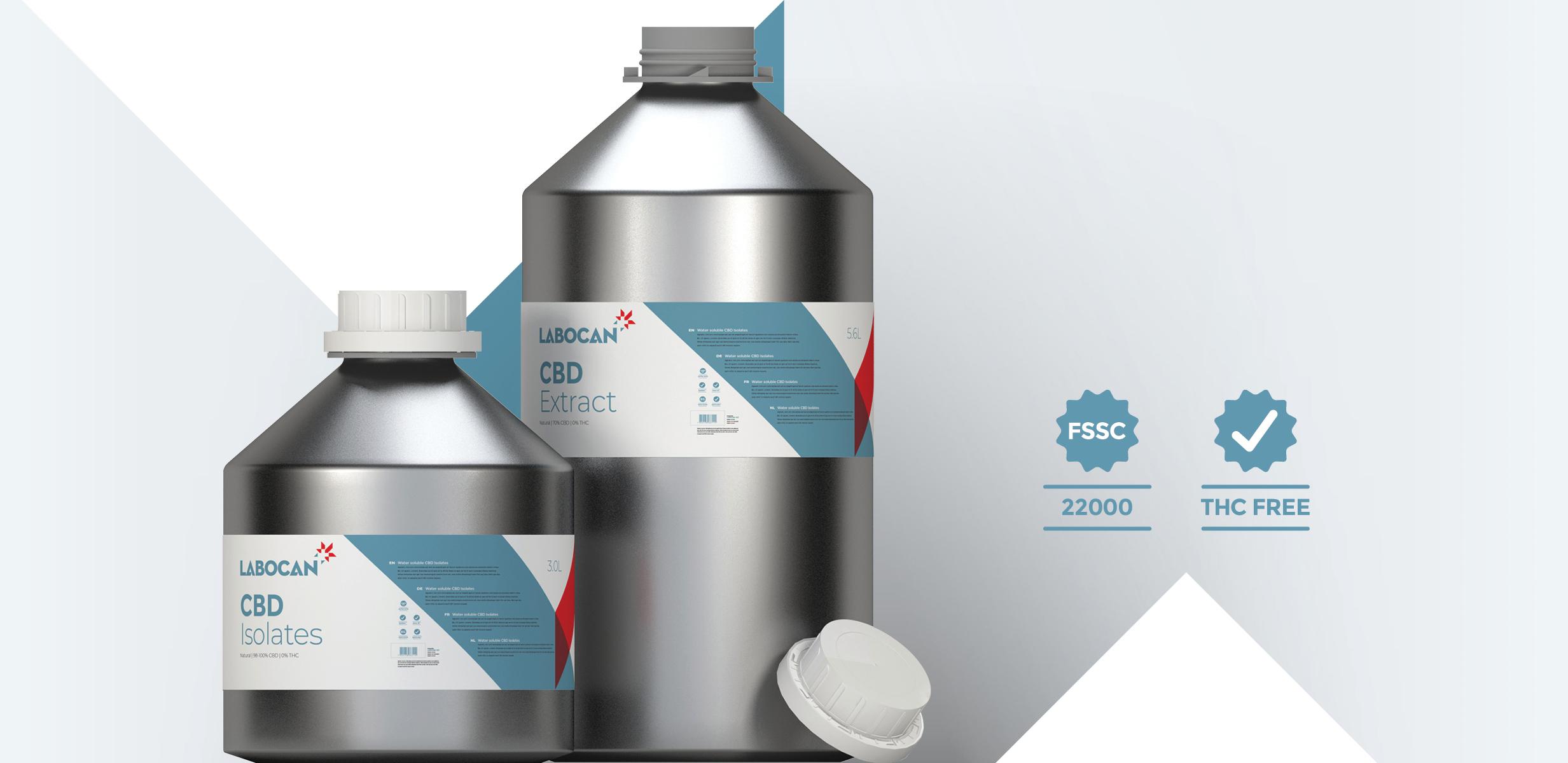 CBD Isolaten en CBD Extract THC-vrij